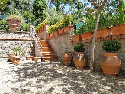 Singola con giardino zona Cure